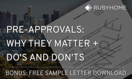 Pre-Approval Letter Sample + Do's and Don'ts