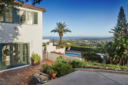 Recent Sale The Riviera - Ocean View Spanish Home Santa Barbara CA