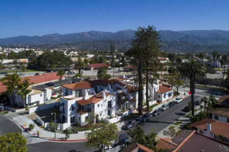 Spectacular Sophisticated West Beach Town Home in Santa Barbara - New Listing 122 West Yanonali Street