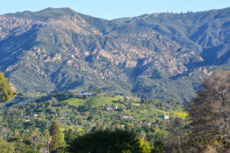 The Rancho San Antonio & Park Highlands Areas - Santa Barbara Foothills