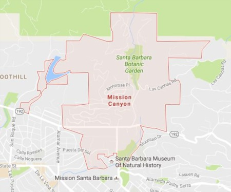 Mission Canyon Top 5 Highest Real Estate Sales - Santa Barbara CA