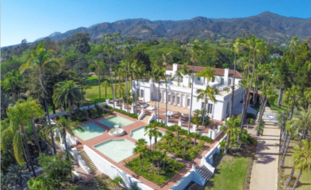 'Scarface' Mansion In Montecito CA Now Listed At A 49% Drop From Original $35 Million Asking Price