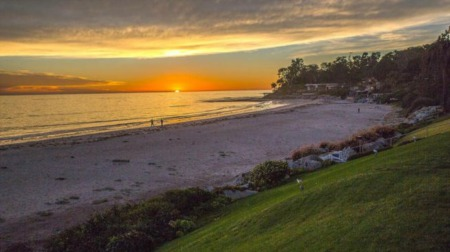 The Exclusive Community of Padaro Lane Oceanfront Real Estate in Carpinteria CA.