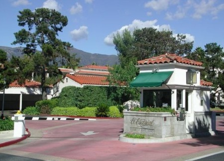 The El Escorial Villas & East Beach Town Homes at East Beach in Santa Barbara CA.