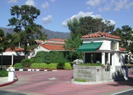 The El Escorial Villas & East Beach Town Homes at East Beach in Santa Barbara CA.