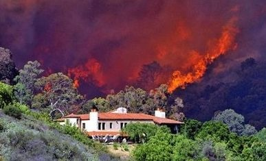Santa Barbara CA Jesusita Fire Update, 80 Confirmed Homes Burned - Saturday May 9th