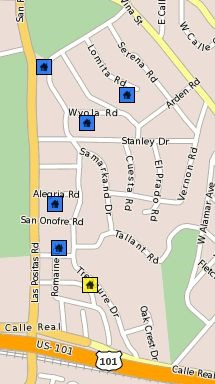 Santa Barbara CA Neighborhoods - Samarkand