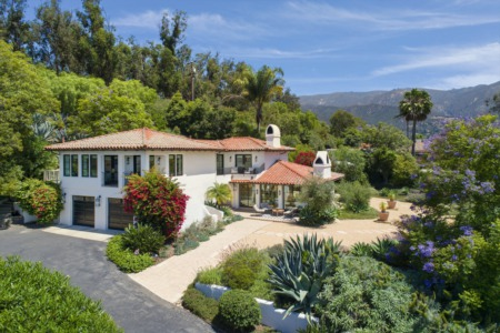 Ultra-Luxurious, Spanish Contemporary View Home - Montecito CA