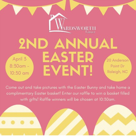 2nd Annual Wardsworth Group Easter Event