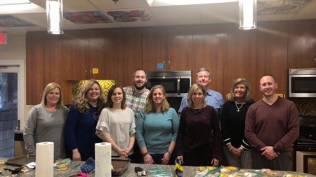 ERA Triangle Real Estate Group Volunteers at the Ronald McDonald House of Durham & Wake