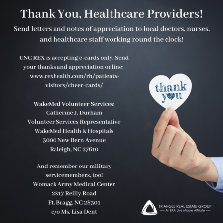 Thank You, Healthcare Heroes