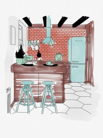 Room colour psychology :  finding the right shade