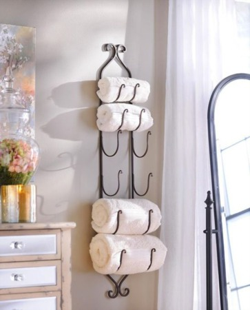 Where to Store the Towels When You Don't Have a Linen Closet