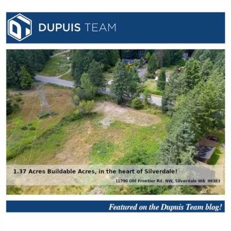 Dupuis Team Listing Highlight: 11790 Old Frontier Rd NW, Silverdale WA