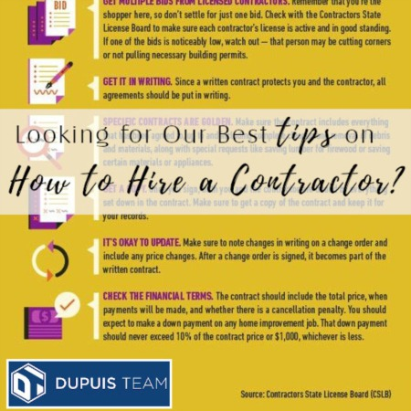 Our Best Tips on How to Hire a Contractor