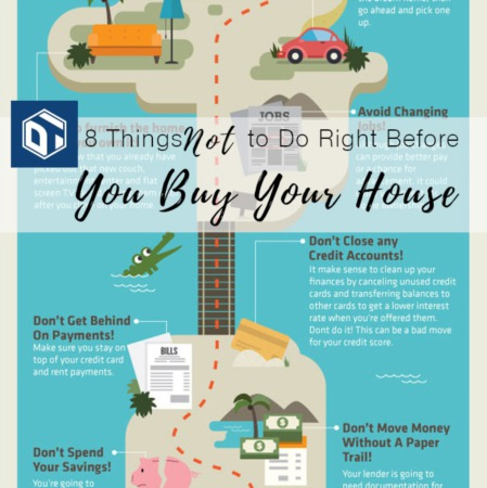 8 Things NOT to Do Right Before You Buy Your New House!