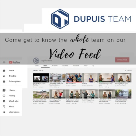 Catching up with Dupuis Team's Video Feed