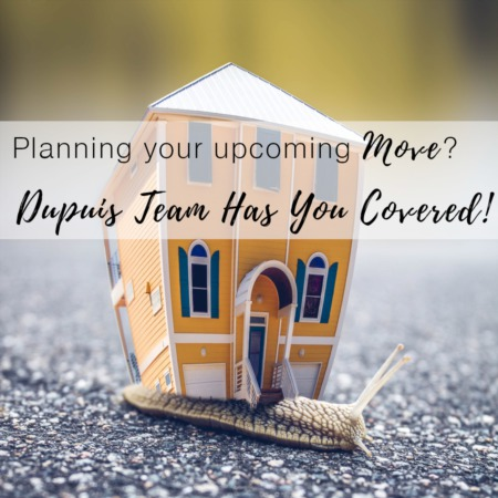 Planning Your Upcoming Move?  Dupuis Team Has You Covered!