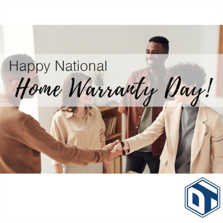 Happy National Home Warranty Day!