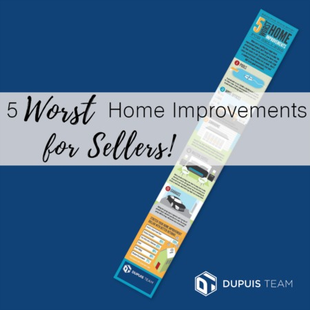 5 Worst Home Improvements for Sellers