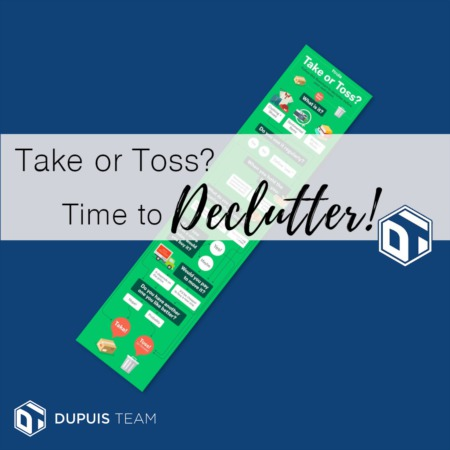 Take or Toss? Time to Declutter!