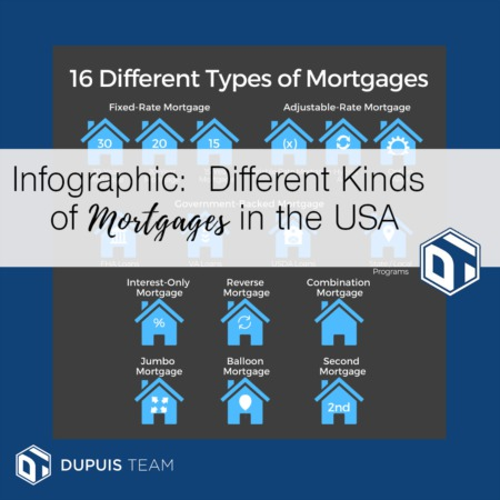 Infographic Time: Different Kinds of Mortagages in the US