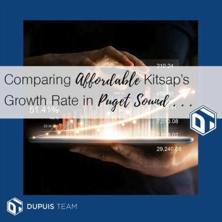 Comparing Affordable Kitsap's Growth Rate in Puget Sound