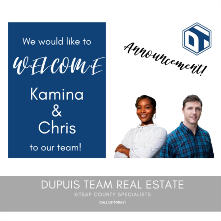 Welcome to TWO New Dupuis Team Members, Kamina and Chris!