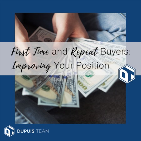 First Time and Repeat Buyers: Improving Your Position