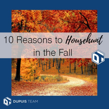 10 Reasons to Househunt in the Fall