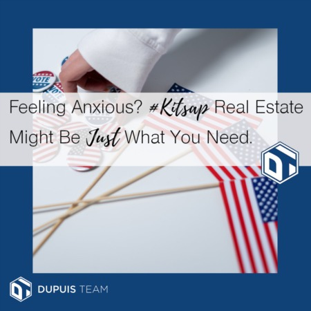 Feeling Anxious About the Future? #Kitsap Real Estate Could Be Just What You Need!!
