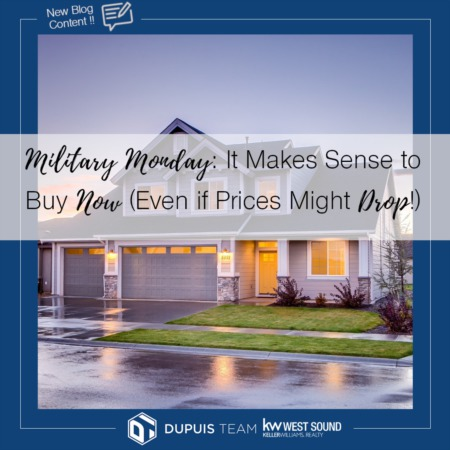 Military Monday: It Makes Sense to Buy Now, Even If Prices Drop Later