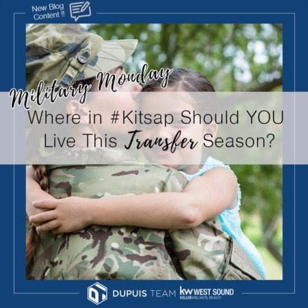 Military Monday: Where in #Kitsap Should You Live This Transfer Season?