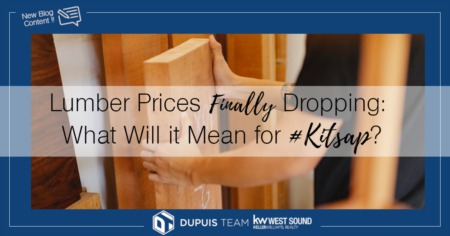 Lumber Prices Finally Dropping: What Will it Mean for #Kitsap?