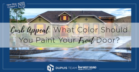 Curb Appeal: What Color Should You Paint Your Front Door?