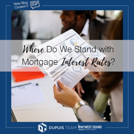 Where Do We Stand With Mortgage Interest Rates?