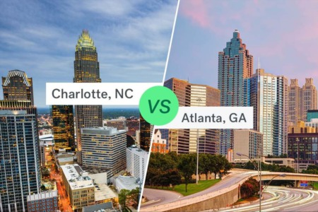 Atlanta, GA vs Charlotte, NC - which city has the superior real estate?