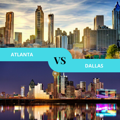 Atlanta GA VS Dallas TX