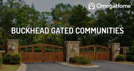 Gated Communities in Buckhead, Atlanta