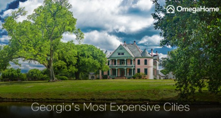 The 9 Most Expensive Cities in Georgia in 2021