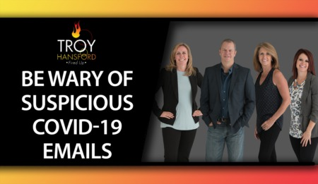 Cybersecurity: Be Wary of Suspicious COVID-19 Emails!