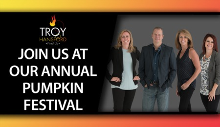 Are You Coming to Our Pumpkin Festival?
