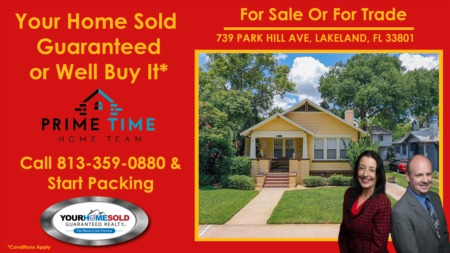 Buy This Home And We'll Buy Yours!! Buy this House in Lakeland Florida