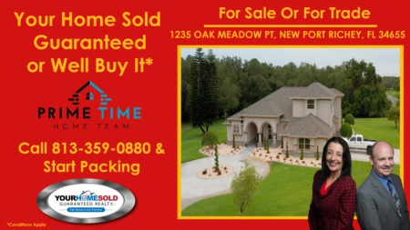 For Sale or For Trade 1235 Oak Meadow Pt New Port Richey, FL 34655