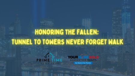Honoring the Fallen; Tunnel to Towers NEVER FORGET Walk