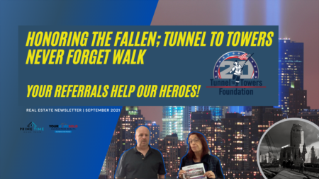 Labor Day and Tunnel to Towers NEVER FORGET Walk