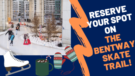Reserve a spot on the Bentway Skate Trail!