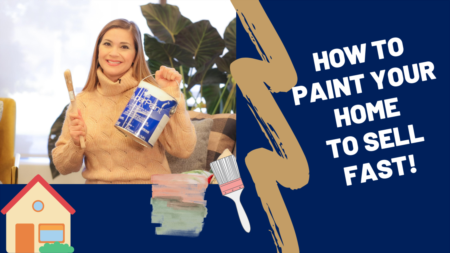 Paint your home to sell quickly!