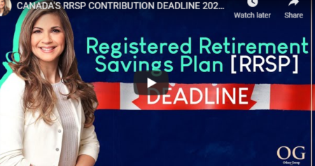 RRSP DEADLINE REMINDER!