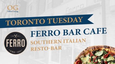 The best Italian food in Toronto!